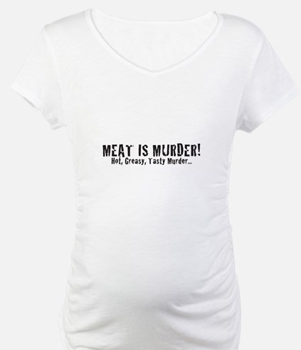 Meat Is Murder! Hot, Greasy,  Shirt