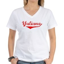Yuliana Vintage (Red) Shirt