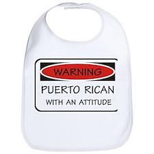 Attitude Puerto Rican Bib