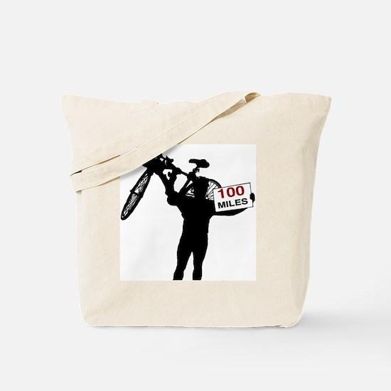 Unique 100 miles Tote Bag