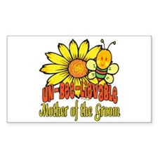 Unbelievable Mother of the Groom Sticker (Rectangu