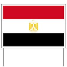 Egypt flag Yard Sign