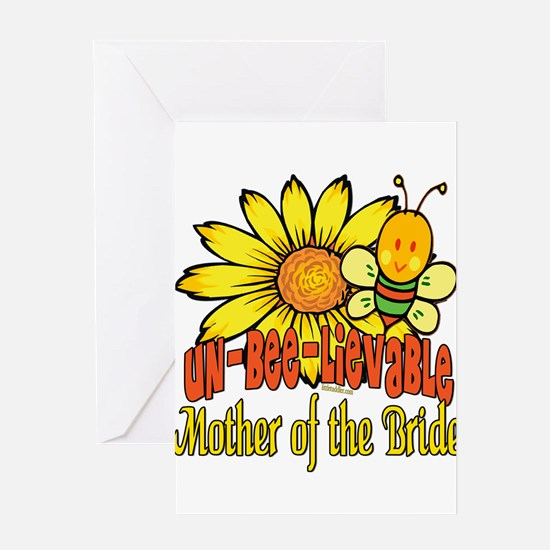 Unbelievable Mother of the Bride Greeting Card