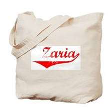Zaria Vintage (Red) Tote Bag