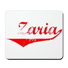 Zaria Vintage (Red) Mousepad