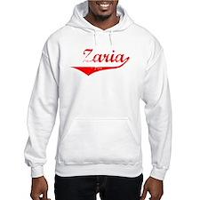 Zaria Vintage (Red) Hoodie Sweatshirt