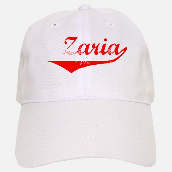Zaria Vintage (Red) Baseball Baseball Cap