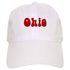 Hippie Ohio Baseball Cap