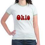 Hippie Ohio Jr. Ringer T-Shirt