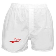Zoie Vintage (Red) Boxer Shorts