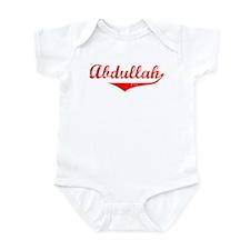 Abdullah Vintage (Red) Infant Bodysuit