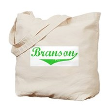 Branson Vintage (Green) Tote Bag