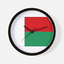 Flag of Madagascar Wall Clock