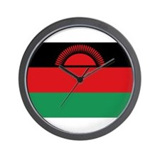 malawi flag Wall Clock