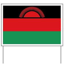 malawi flag Yard Sign