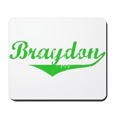 Braydon Vintage (Green) Mousepad