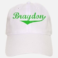 Braydon Vintage (Green) Baseball Baseball Cap