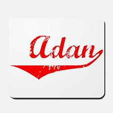 Adan Vintage (Red) Mousepad