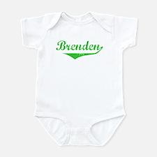 Brenden Vintage (Green) Onesie