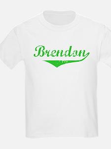 Brendon Vintage (Green) T-Shirt
