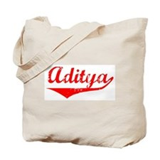 Aditya Vintage (Red) Tote Bag