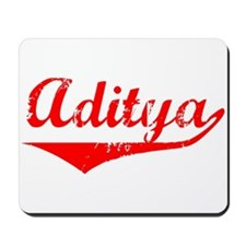 Aditya Vintage (Red) Mousepad