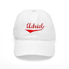 Adriel Vintage (Red) Baseball Baseball Cap