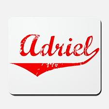 Adriel Vintage (Red) Mousepad