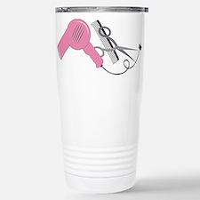 Cute Hairstylist Travel Mug
