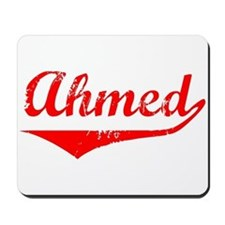 Ahmed Vintage (Red) Mousepad