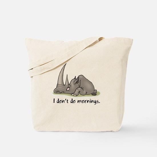 Lazy Rhino Tote Bag