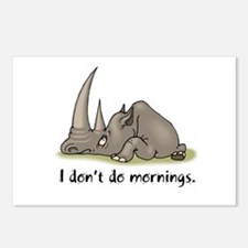 Lazy Rhino Postcards (Package of 8)