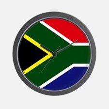 Flag South Africa Wall Clock