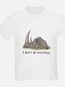 Lazy Rhino Kids T-Shirt