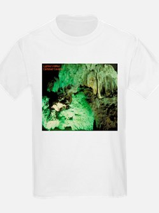Carlsbad Caves (Front) Kids T-Shirt