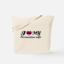 I love my Armenian wife Tote Bag
