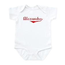 Alexandro Vintage (Red) Infant Bodysuit