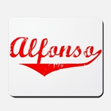 Alfonso Vintage (Red) Mousepad