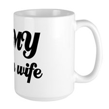 I love my Canadian wife Mug