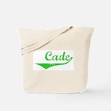 Cade Vintage (Green) Tote Bag
