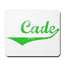Cade Vintage (Green) Mousepad