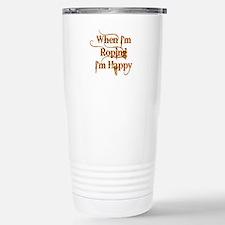 Cute Cowgirl Thermos Mug