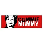 Commie Mommy Bumper Sticker Bumper Sticker