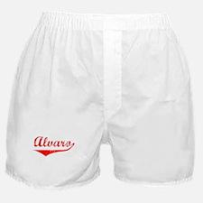 Alvaro Vintage (Red) Boxer Shorts