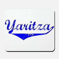Yaritza Vintage (Blue) Mousepad