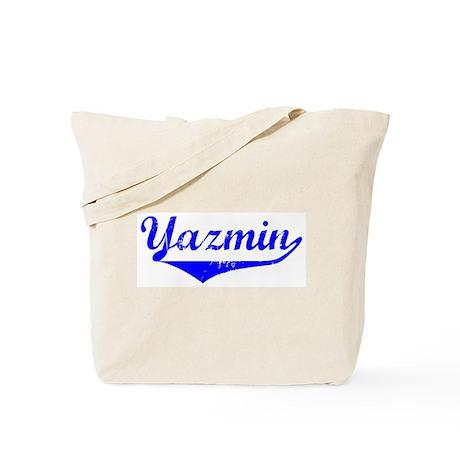 Yazmin Vintage (Blue) Tote Bag