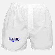 Yazmin Vintage (Blue) Boxer Shorts