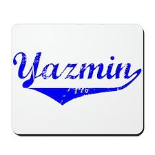Yazmin Vintage (Blue) Mousepad