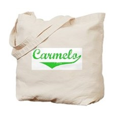 Carmelo Vintage (Green) Tote Bag