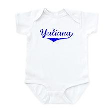 Yuliana Vintage (Blue) Infant Bodysuit